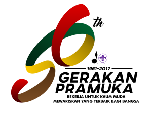 Logo 56 Tahun Gerakan Pramuka 2017
